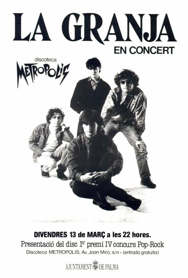Cartel concierto Metropolis